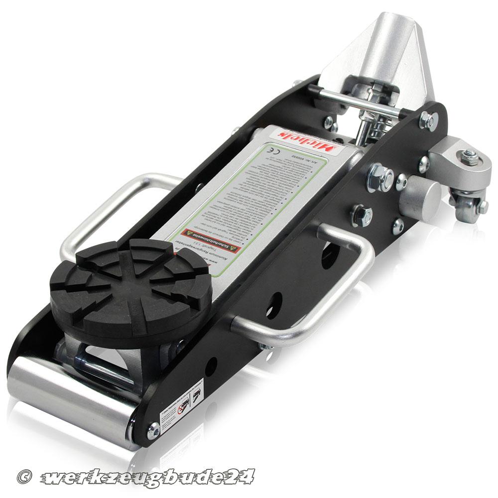 Tragteller mit Vollgummiauflage Ø125mm für Wagenheber Aluminium Alu Racing #2